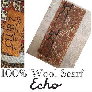 🌿Unisex Echo Thin Wool Scarf